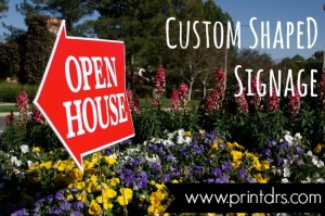 Custom Shape Yard Signs