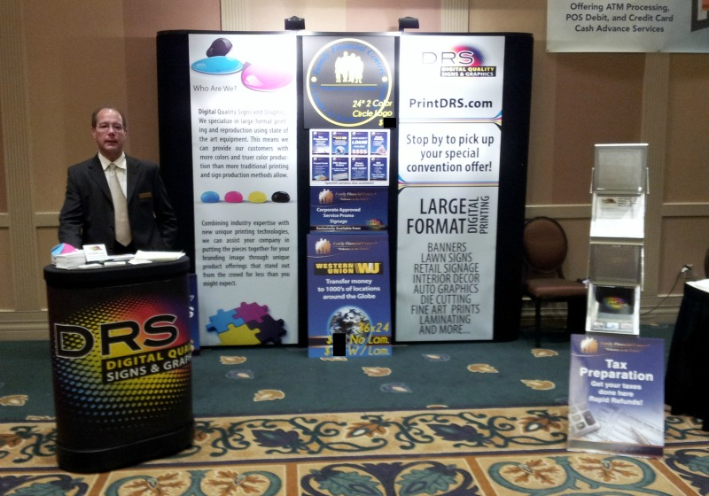 DRS Family Financial Centers - Wide Format Printing Vendor