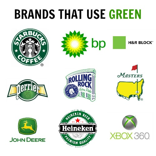 brands using green
