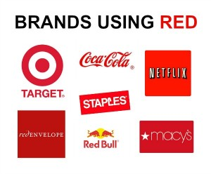 brands using red